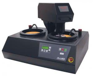 металлографический полуавтоматический двухкруговый шлифовально-полировальный станок DualPrep
