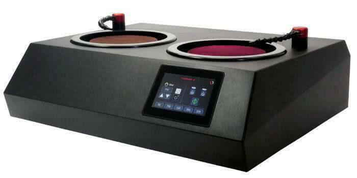 ручной шлифовально-полировальные станок с сенсорным экраном
