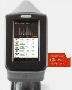 Результаты измерений лазерного спектрометра SciAps Z-200 C+